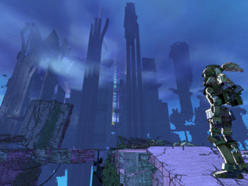 Sci-Fi Parkour Game Super Cloudbuilt Is Coming to PC, Xbox One, and PS4
