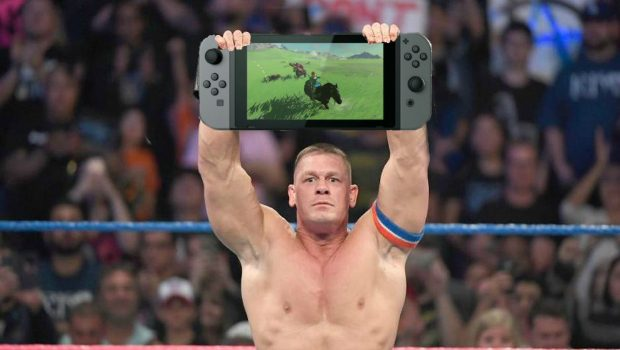 "John Cena is ""Floored by the Technology of the Switch""; Full Impressions Released"