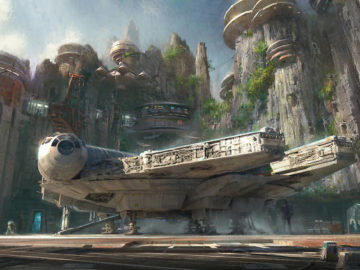 Star Wars Land Coming to Disneyland, Disney's Hollywood Studios in 2019
