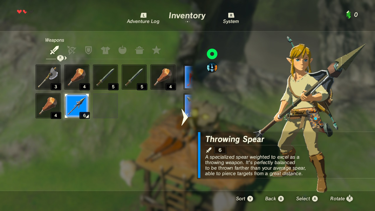 Where To Find A Traveler S Sword Botw