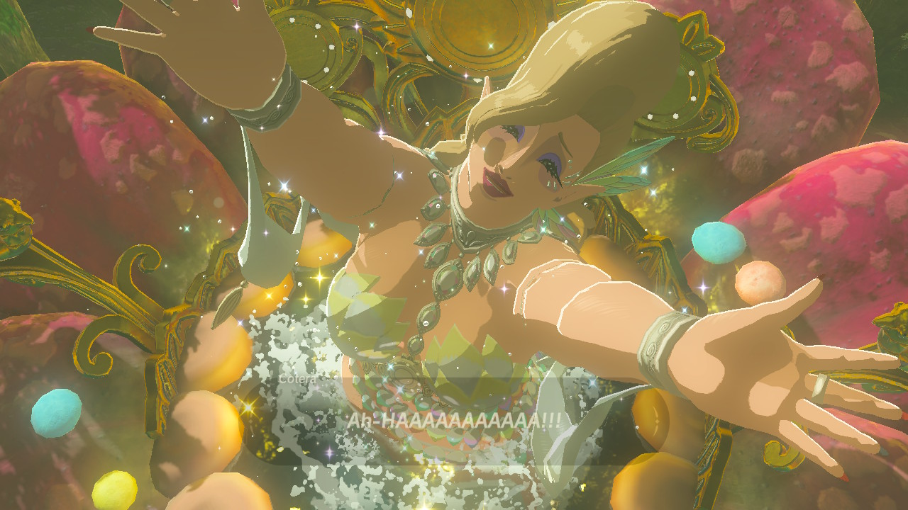 breath of the wild fully upgrade armor with all 4 great fairy