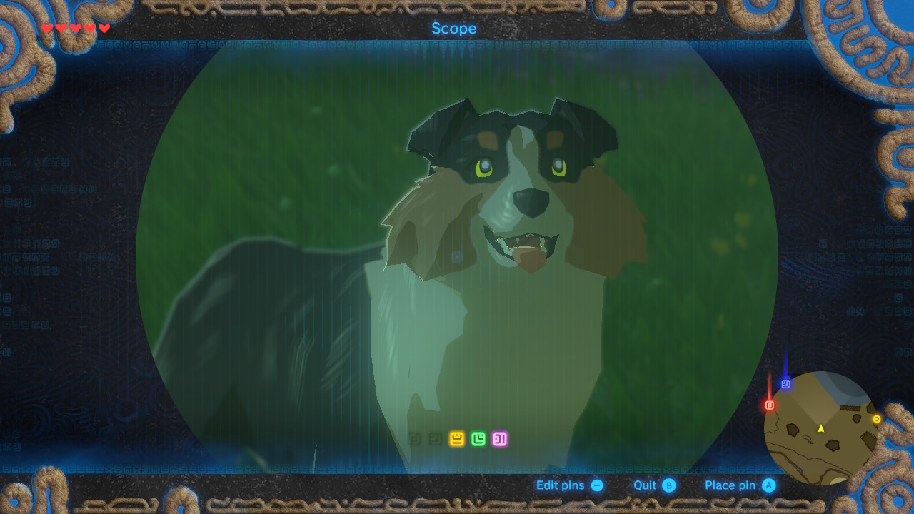 Breath Of The Wild How To Make Friends With Dogs Amp Get