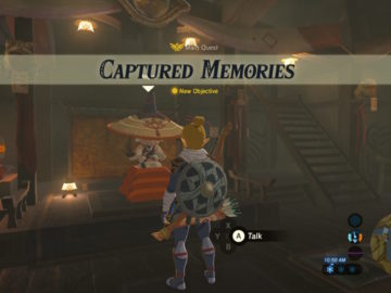 Breath of the Wild – All 12 Memory Locations | Captured Memories Quest