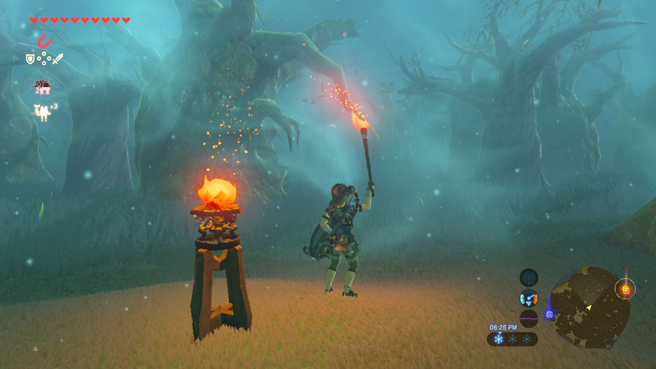 Breath Of The Wild How To Navigate The Lost Woods Hero Sword Guide Gameranx