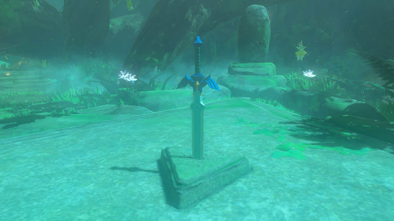 The Lost Woods Are Confusing, Spooky Place In Legend Of Zelda: Breath Of The  Wild. If Youu0027re Looking For The Master Sword And Want To Navigate The Thick  Fog ...