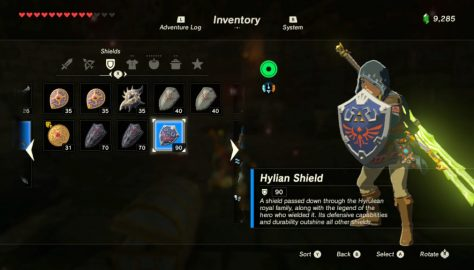 Zelda: Breath of the Wild – How to Get the Hylian Shield | Best Shield Guide