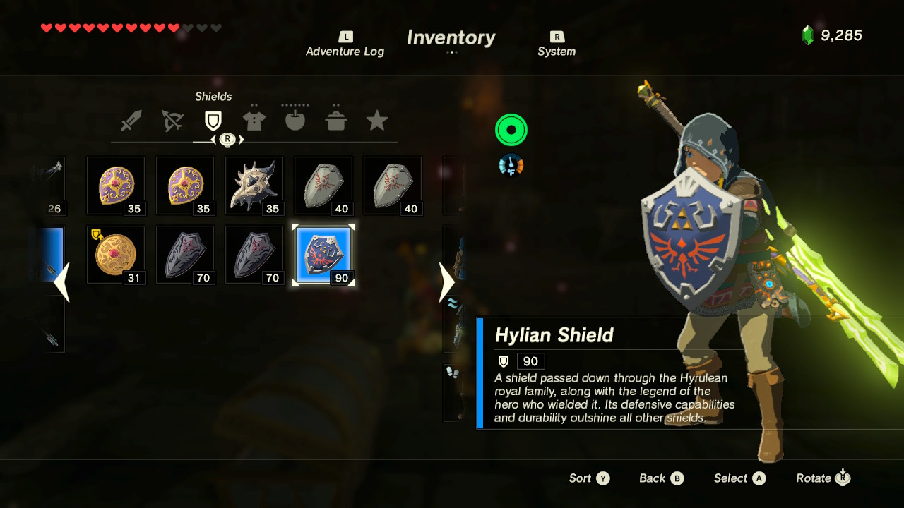 Zelda Breath Of The Wild How To Get The Hylian Shield Best Shield Guide Gameranx