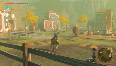 Breath of the Wild – How to Build Tarrey Town | 'From the Ground Up' Quest Guide