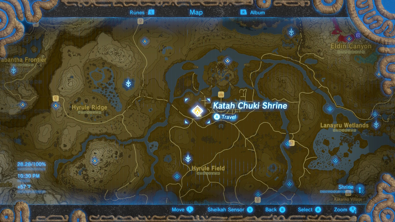 Zelda Breath Of The Wild How To Solve All Shrines Central Walkthrough Page 6 Of 9 Gameranx