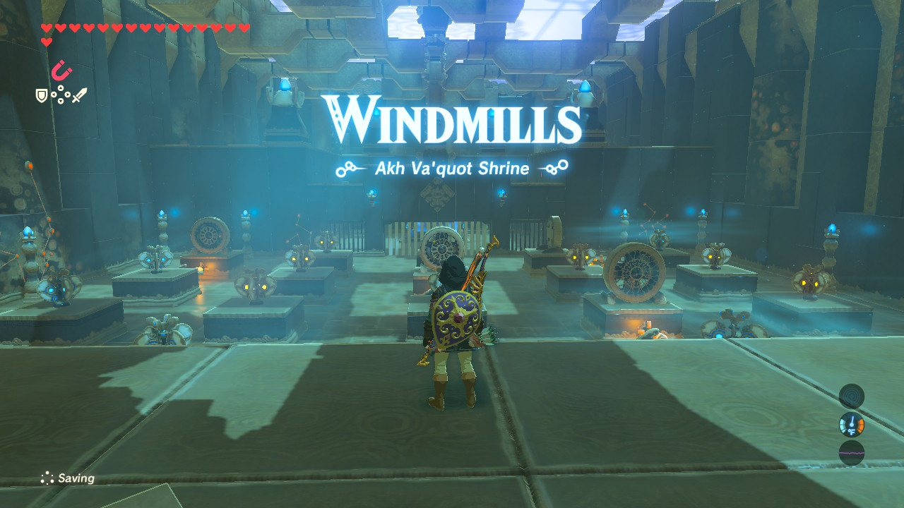 Breath Of The Wild How To Solve All Shrines Tabantha Walkthrough Page 2 Of 7 Gameranx Once all the fan blades/fins are blue, players can proceed to collect their spirit orb. shrines tabantha walkthrough