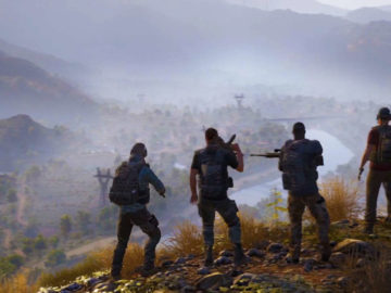 Ghost Recon: Wildlands Still At No. 1 in UK Charts, Horizon: Zero Dawn Drops to 3rd
