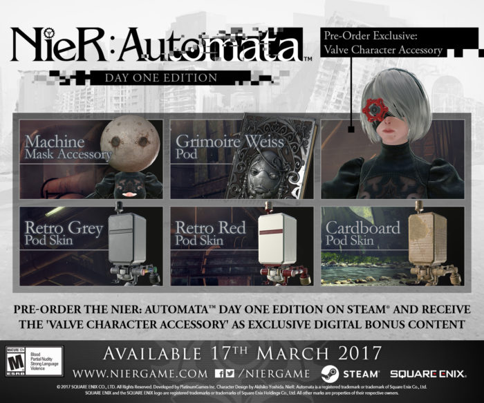 NieR: Automata Finally Gets An Official PC Launch Date