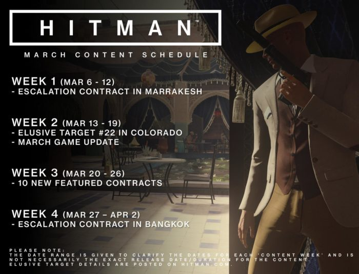 Hitman's March Update Is Out Now, Full Patch Notes Are Here