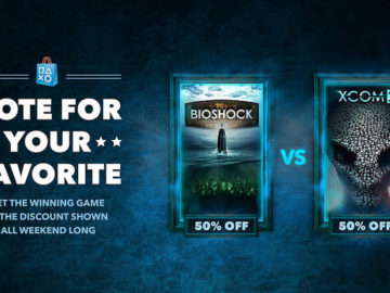 Sony's Next Discount Poll Features BioShock: The Collection & XCOM 2