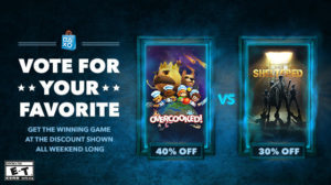 Sony Week 4 Discount Vote Now Live