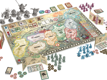 Rising Sun: A Feudal-Japan Themed Board Game Collects a Cool $2M on Kickstarter