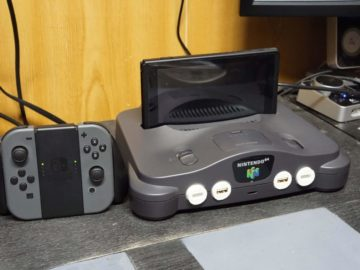 Custom Nintendo Switch Dock Uses Nintendo 64