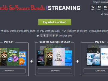 New Humble Bundle Centered Around Streaming