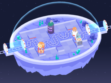 Embrace the Awkward Charm of Space Puzzler Cosmic Express