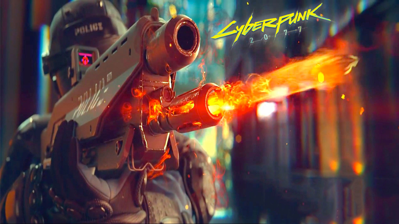 cd projekt red brings up cyberpunk 2077 during conference