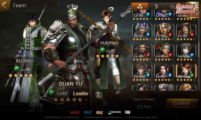 Nexon Releases Dynasty Warriors: Unleashed On Mobile Devices Worldwide