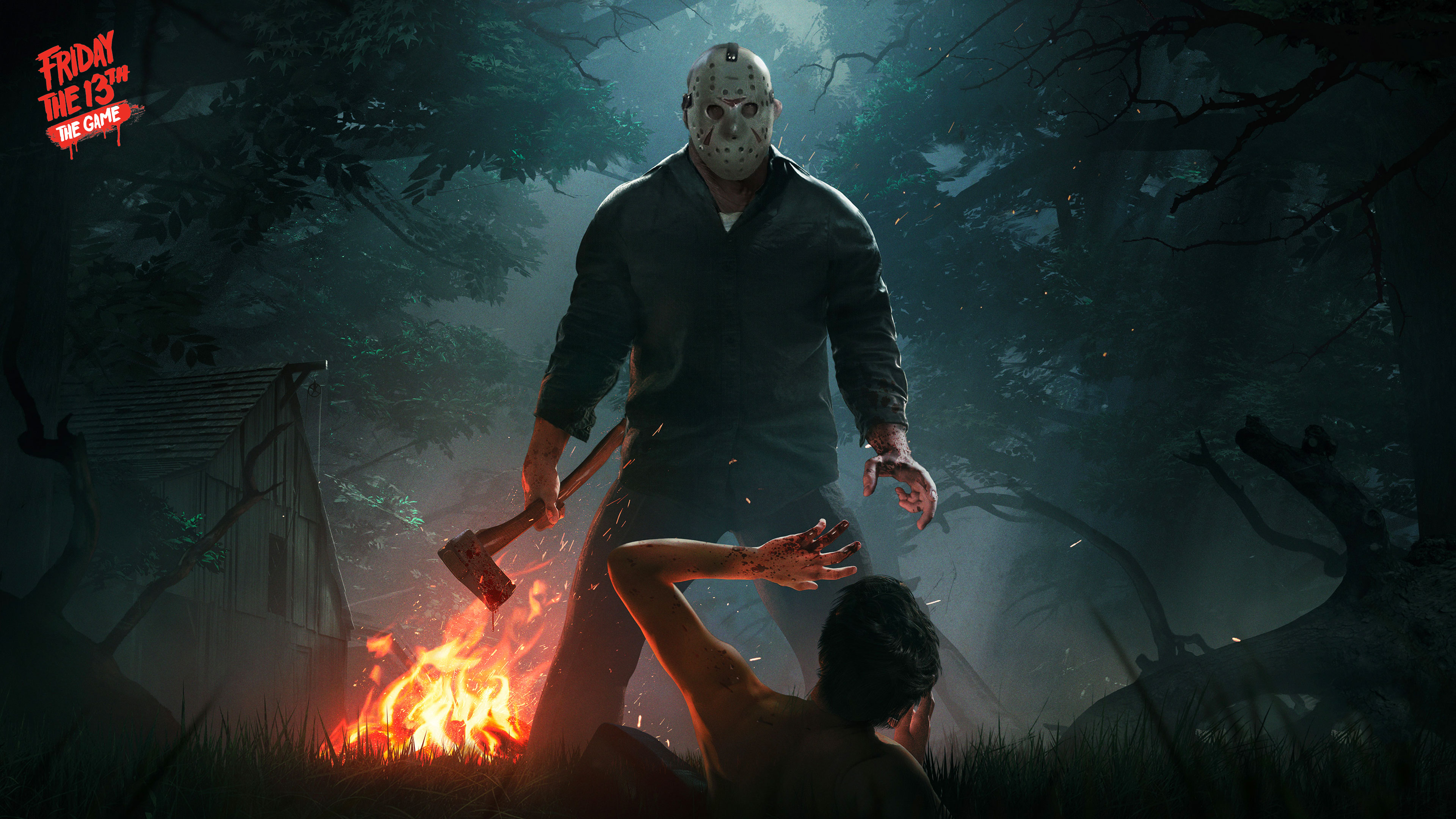 Friday The 13th The Game Wallpapers In Ultra Hd 4k Gameranx