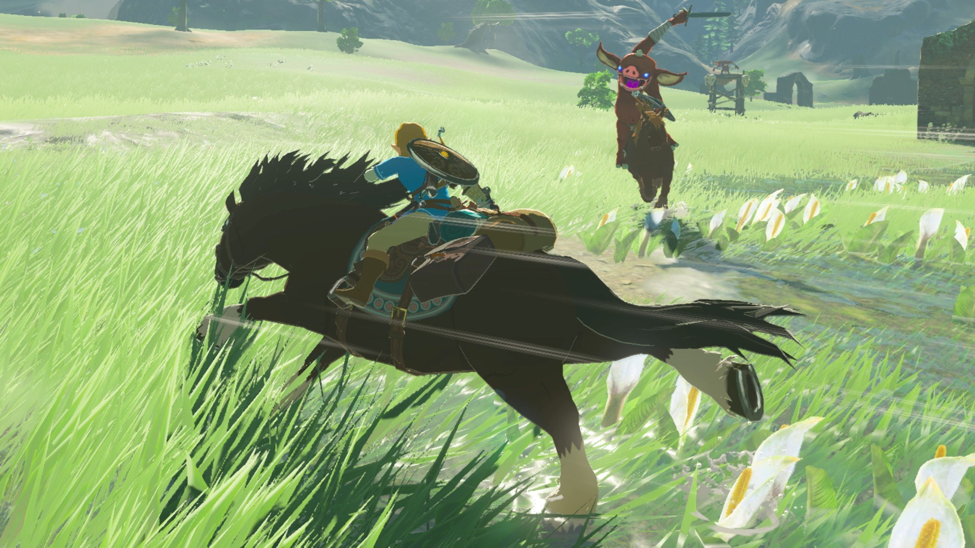 Breath Of The Wild 6 Tips To Tame Horses How To Get A Mount Gameranx