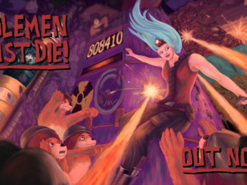 Satirical Arcade Game Molemen Must Die is Officially Out