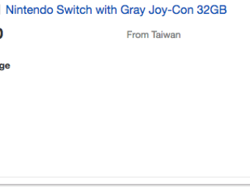 Would You Buy a Nintendo Switch on eBay for up to $750?