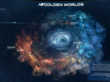 BioWare Teases Humanity's only Hope, The 'Golden Worlds'