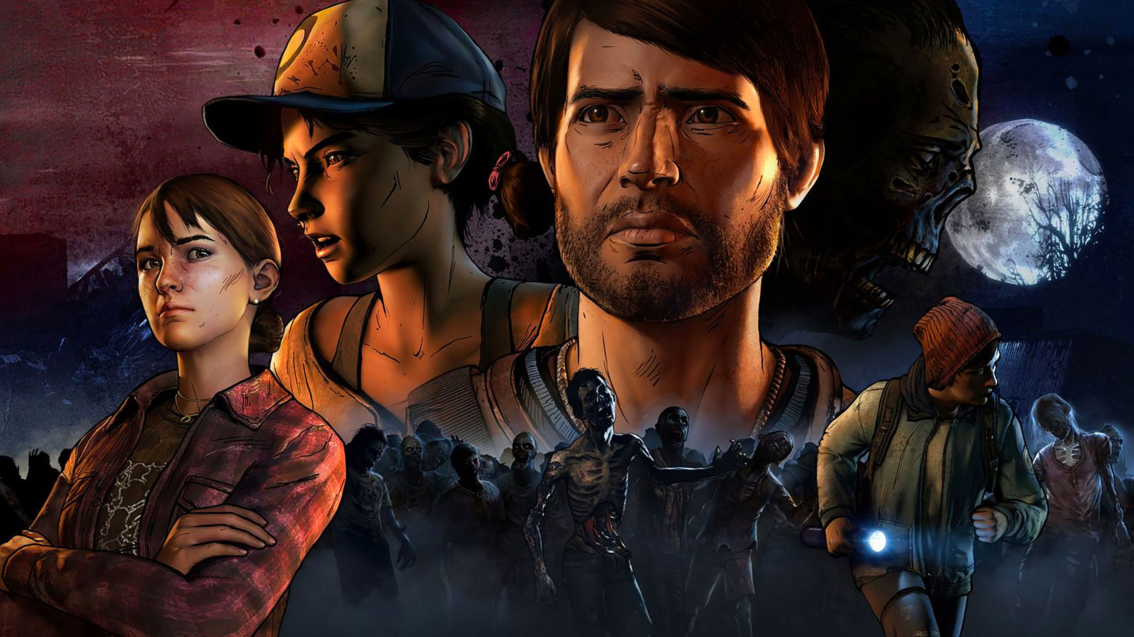 Telltale S Walking Dead Season 3 Wallpapers In Ultra Hd 4k