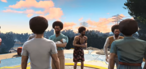Here's Fallout 4, But Everyone is Bob Ross