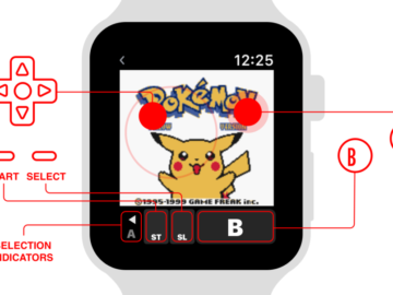 Game Boy Color Emulator Developed For Apple Watch