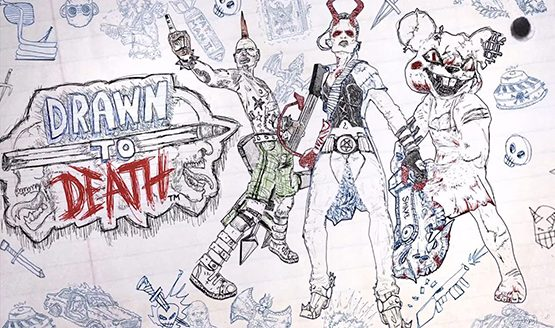 Drawn to Death Receives 30-Minute Gameplay Video With Creator David Jaffe