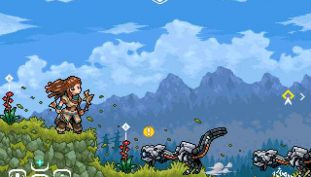 Horizon: Zero Dawn Meets Arcade in This Awesome Pixel Art Series