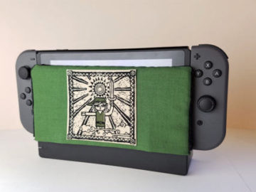 Check Out These Custom Nintendo Switch Dock Protectors