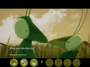 Play as a Lustful Praying Mantis in 'Don't Make Love'