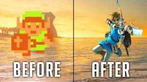 Evolution of The Legend of ZELDA