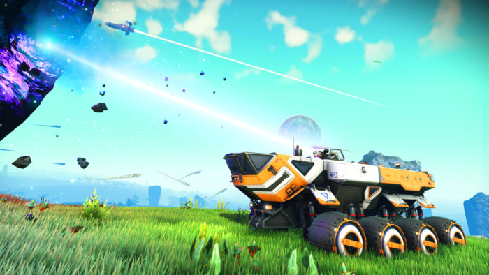 No Man's Sky Update Opens Up Its New Vehicles To All Planets