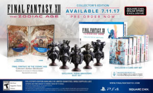 Final Fantasy XII The Zodiac Age Collector's Edition Is Here