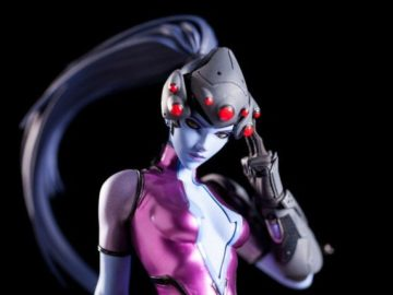Blizzard's Latest Collectible in Overwatch Statue Range is Widowmaker