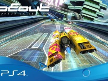 U.K. Retailers Offer Classic Sleeve With Pre-Order of Wipeout Omega Collection