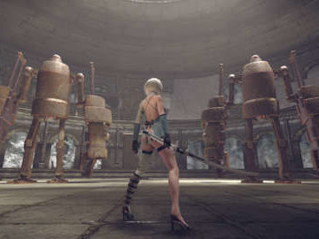 NieR: Automata's New DLC Has You Fight Square Enix's CEO