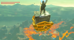 Gamer Discovers New Way To Transverse The Legend of Zelda: Breath of the Wild