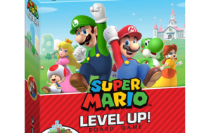 Super Mario Level Up! Board Game Unveiled