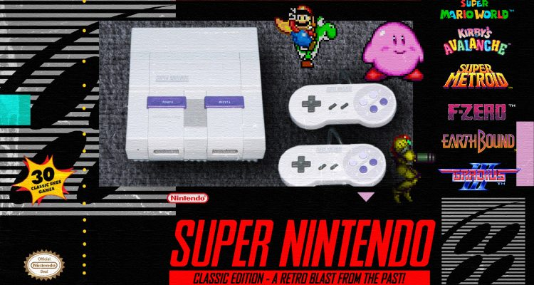 Sources State That SNES Mini is Underway; Will Release Before Christmas 2017