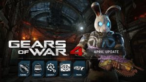 Gears of War 4 April Update Adds Giant Bunny Heads, Free Maps, and More