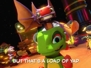 Check Out Playtonic's Yooka-Laylee Rap, a Tribute to the DK Rap