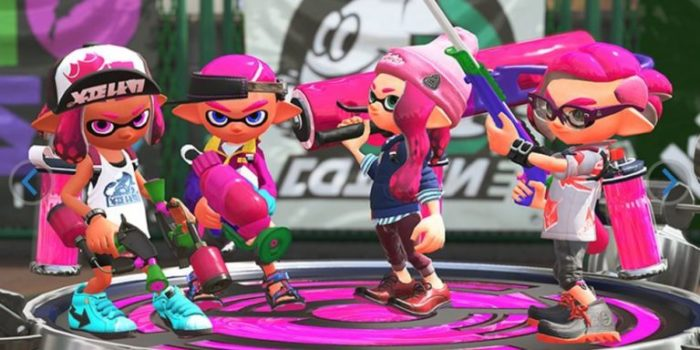 Nintendo unveils first official Switch bundle with Splatoon 2