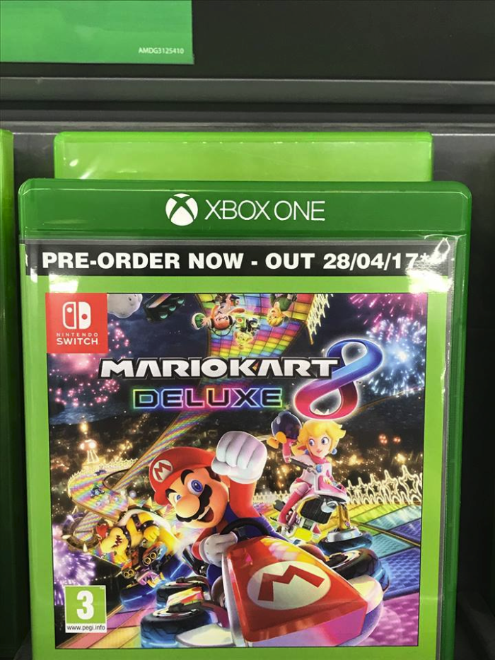Retailers Mario Kart 8 Deluxe Edition Will Not Be Releasing